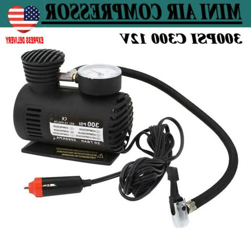 new portable mini air compressor electric tire