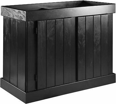 Aqueon Pine Aquarium Stand Black 18 x 36in