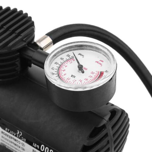 Tire Inflator Air Pump Compressor Electric Portable 300 PSI