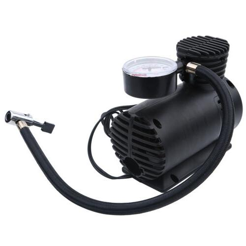 Tire Inflator Air Pump Compressor Portable 12V DC 300 PSI