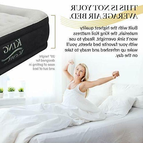 King Mattress Inflatable Airbed Queen Size