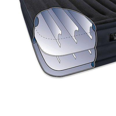 Intex Queen Mattress Bed with Electric Pump Cover