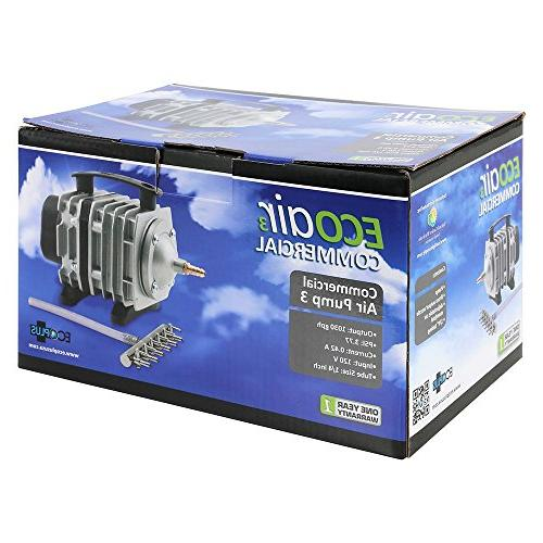 EcoPlus 1030 Air w/ Valves Aquarium, Fish Tank, Fountain, Pond, Hydroponics