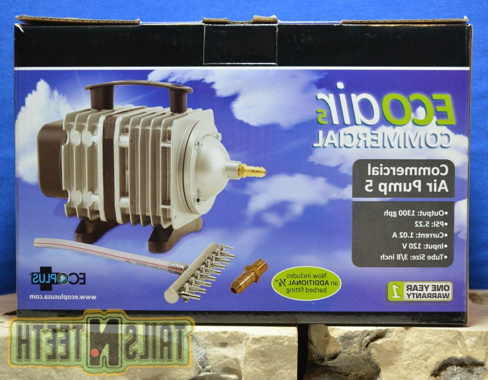 EcoPlus 1030 Air Pump 6 Valves Tank, Pond,