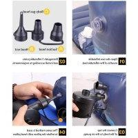 Smart Quick-Fill AC Electric Air Pump Inflator for Airbed In