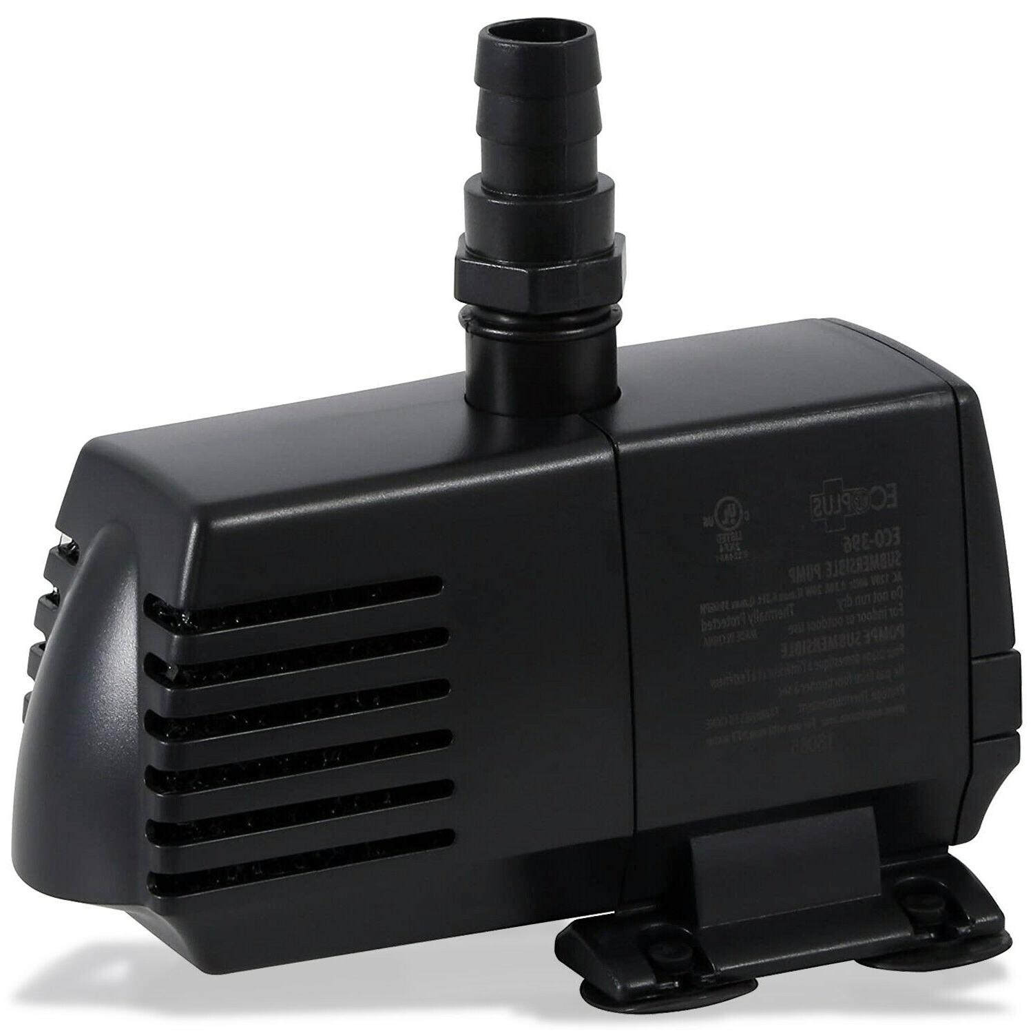 EcoPlus 100GPH Submersible Water Pump