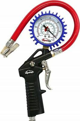 Tire with Gauge Hose Air Tire Filler
