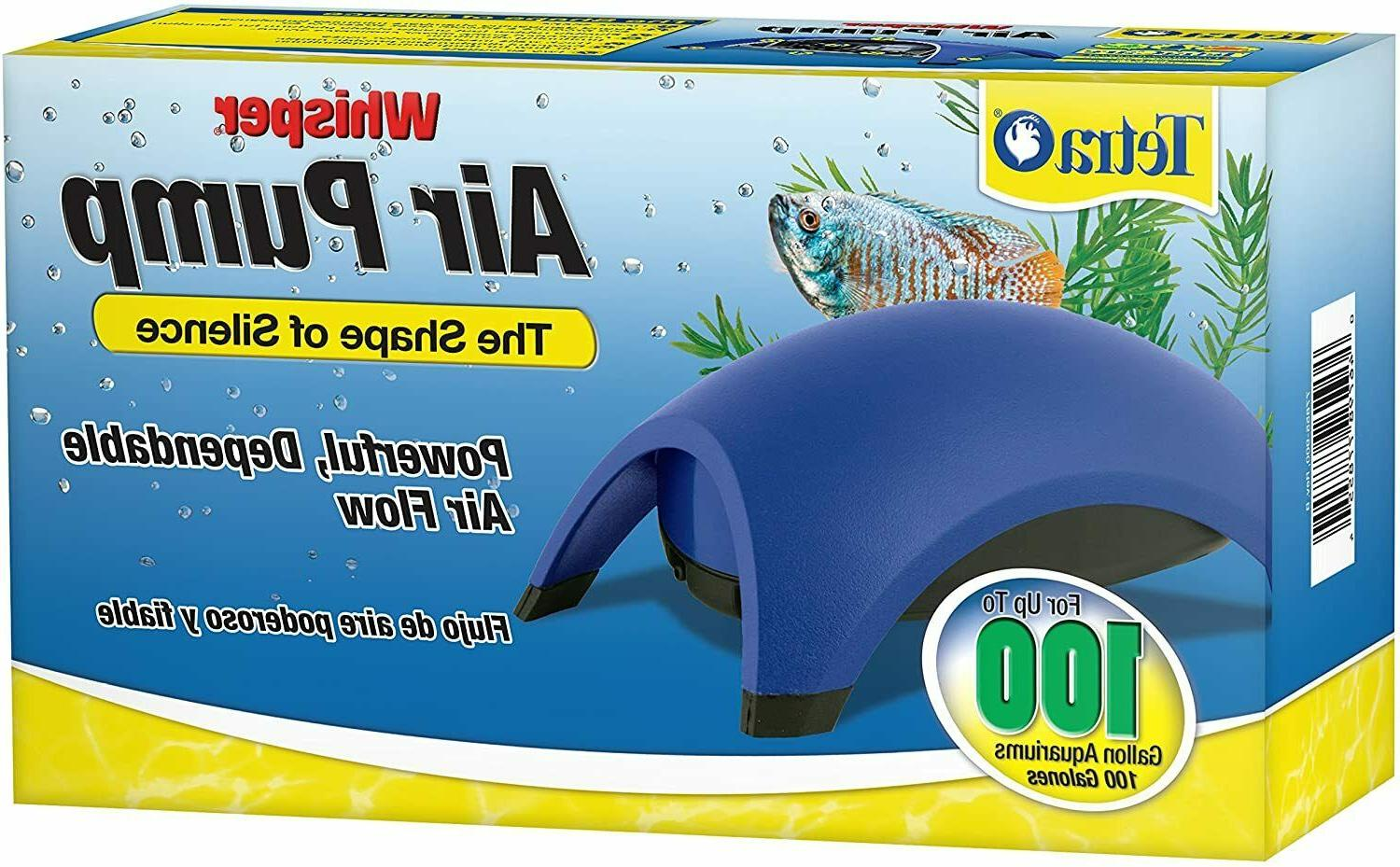 Tetra Whisper Easy to Use Air Pump for Aquariums  60-100-Gal