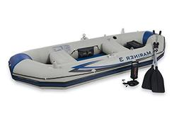 Intex Mariner 3 Boat Set, Grey