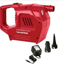 NEW!! Coleman Air Pump Rechargeable QuickPump Inflate Deflat