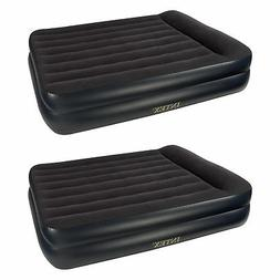 Intex Pillow Rest Queen Size Air Bed Mattress with Built In