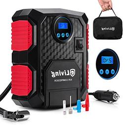 Portable Air Compressor Pump, GLiving Portable Digital Tire