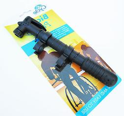 Portable Bicycle Bike Tire Hand Air Pump Inflator Light Weig
