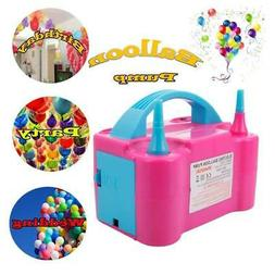 Portable Double High Speed Electric Balloon Air Pump Inflato