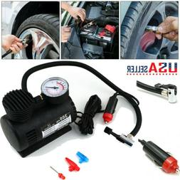 Portable Mini Air Compressor 12V Auto Car Electric Tire Air
