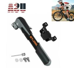 Portable Mini Bicycle Bike Air Pump Inflator Tyre Tire Press