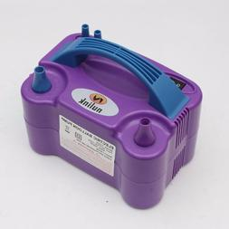 Purple Portable Power Two Nozzle Color Air Blower Electric B