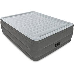 "Intex Queen 22"" DuraBeam High Rise Airbed Mattress with Buil"