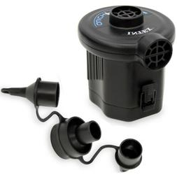 Intex Quick-Fill Air Pump Portable Travel Battery Inflation