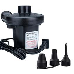 HappyCell 150W Quick-Fill AC Electric Air Pump 110-120 Volt