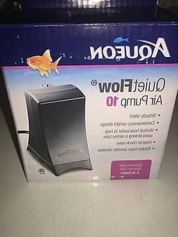 Aqueon Quiet Flow Air Pump 10 All Water Types Fish Tank Aqua
