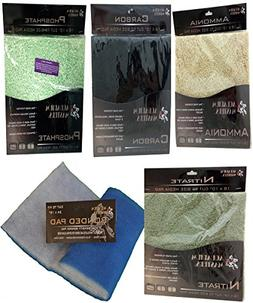 Ruby Basin Combo Filter Pad Pack, Includes Activated Carbon