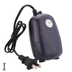 ZEROYOYO Silent 220V 5W Aquarium Air Pump Fish Tank Mini Aer