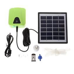 UEETEK Solar Charging Moving Air Bubble Aerator Aquarium Fis