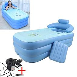 Dig dog bone Sponge Bottom Inflatable Collapsible Warm Bath