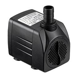 Lyqily 400 GPH Submersible Water Pump with 5.9ft Power Cord