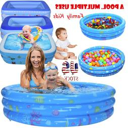 Summer Inflatable Swimming Pool Center Lounge Family Kid Wat