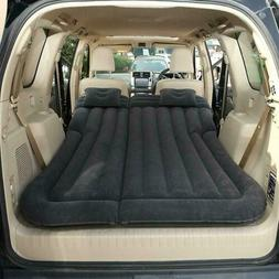 SUV/Car Air Mattress Travel Bed Flocking Inflatable Car Bed