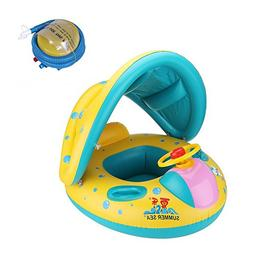 Fullcurn Baby Swim Seat Ring Inflatable Safety Children Safe