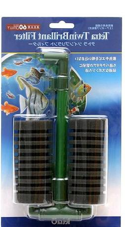 Tetra Twin Brillant Filter Sponge Filter for Aquarium Tank,