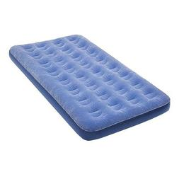 Twin Low Profile Flock Top Air Bed, Twin, Portable / Inflata