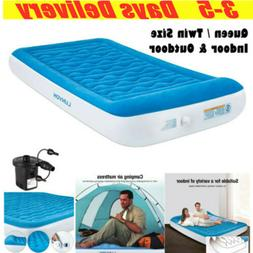 Twin Queen Air Mattress for Home Camping Inflatable Pad Air