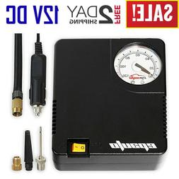 tyre inflator 12v electric air compressor portable