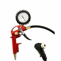 GrimmTools - Universal Bicycle Tire Inflator for Presta and