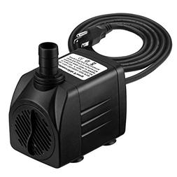 Homasy Upgraded 400GPH Submersible Water Pump with 48 Hours