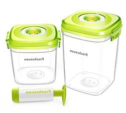 Freshseven Vacuum Seal Air-tight Versatile Food Container an