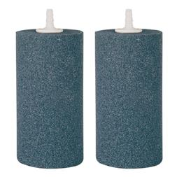 VIVOSUN Air Stone 2PCS 4 X 2 Inch Large Cylinder for Aquariu