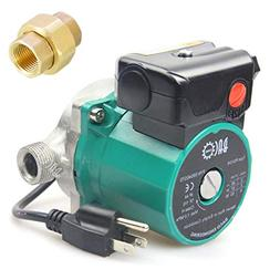 "BACOENG 3/4"" 110V NPT Hot Water Circulation Pump Circulating"
