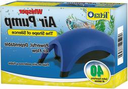 Whisper Air Pump Tetra Water Fish Tank Aquarium 10 40 60 100