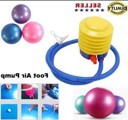 Yoga Ball Foot Air Pump Inflator Accessories Fitness Exercis